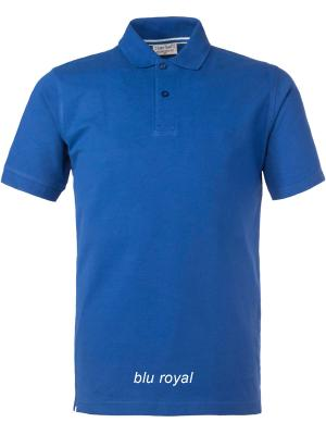 Polo m/c HH121 Take Time Rossini - COLORE ROYAL - OFFERTA